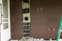 Thru Wall Flue Liner & Masonry