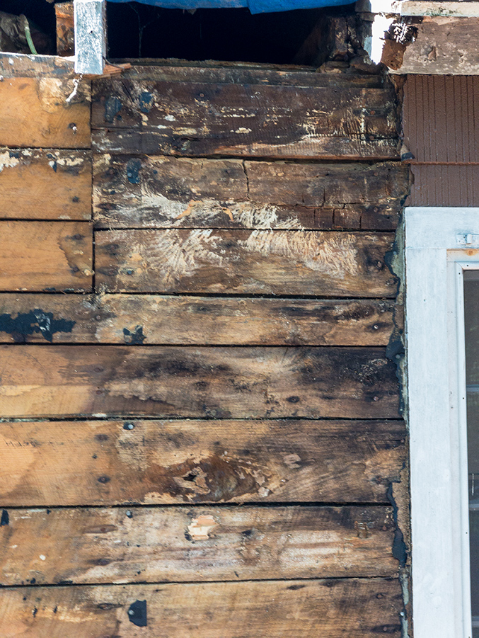 Rotted Wood Planking