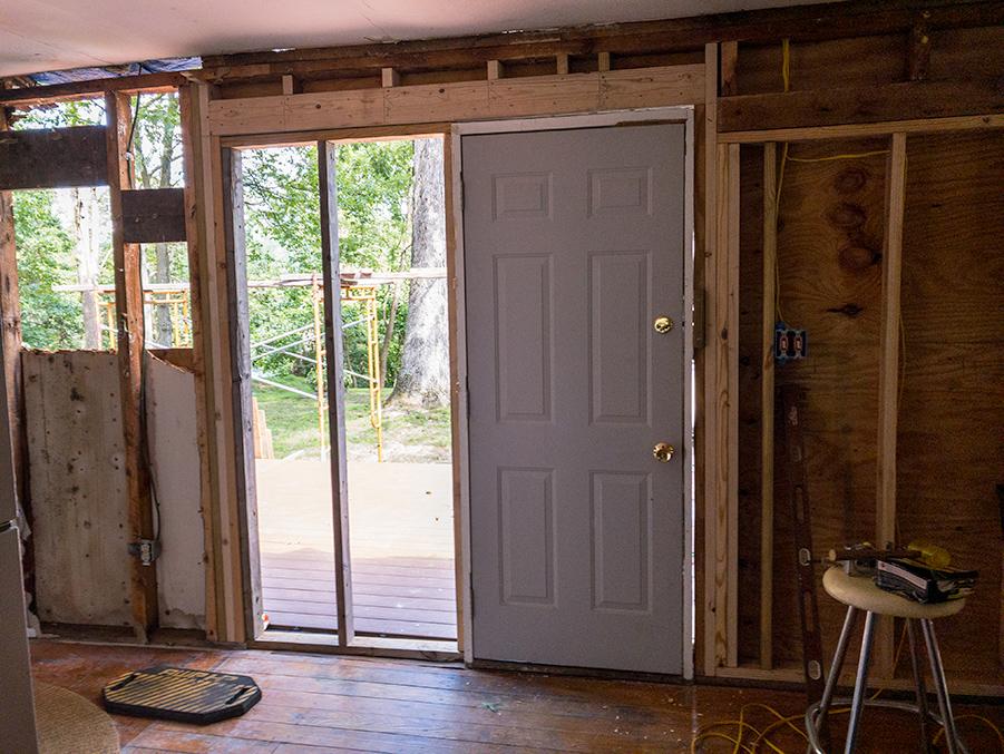 Metal Door - Temporary Entry Door