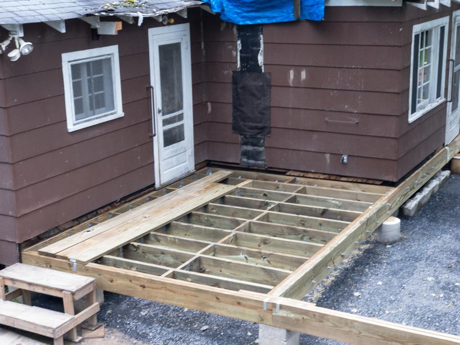 Kitchen Addition - Solid Bridging