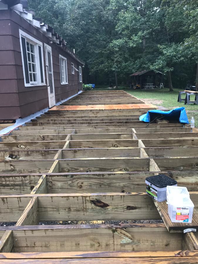 Solid Bridging - Porch Joists