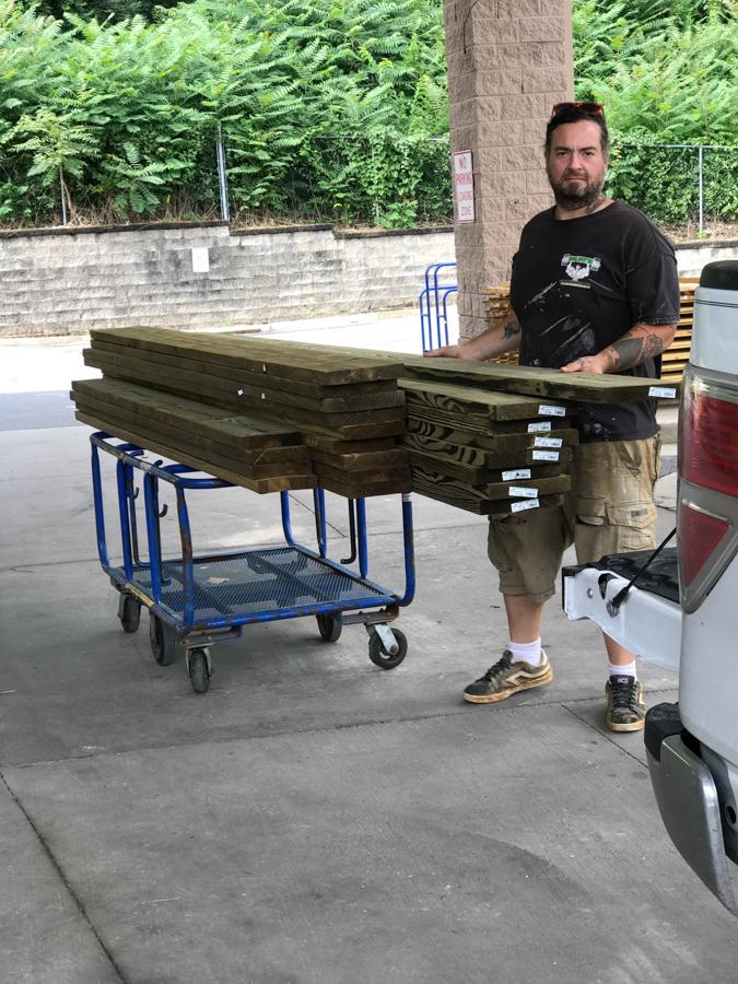 Floor Framing - Treated Lumber
