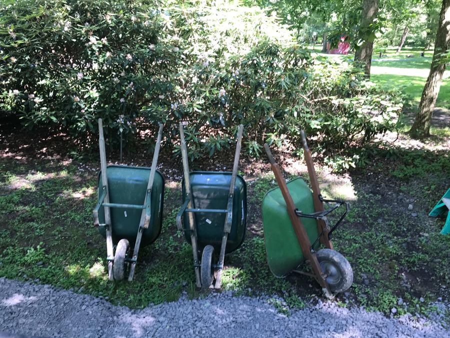 Clean Up - Wheel Barrows
