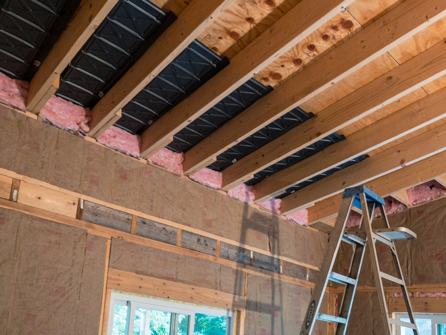 Cathedral Ceiling - Rafter Vents