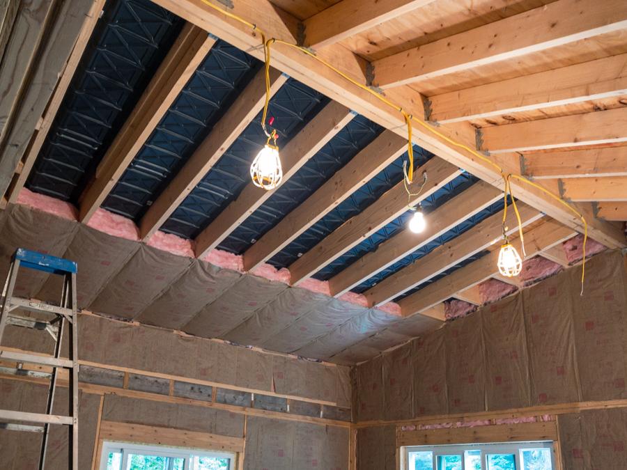 Cathedral Ceiling - R30 Batt Insulation