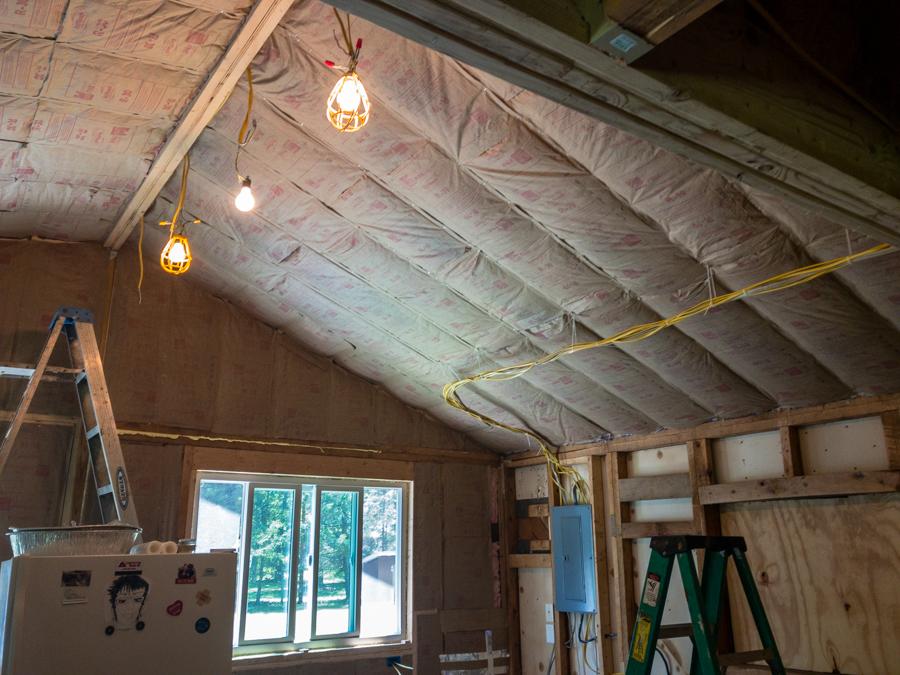Kitchen Ceiling Insulation