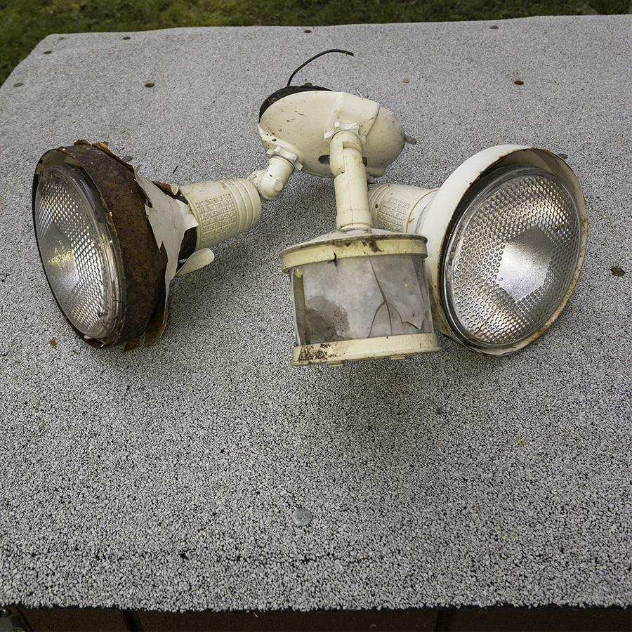 Old Flood Light
