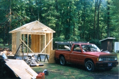 New Shed - Roof Framing