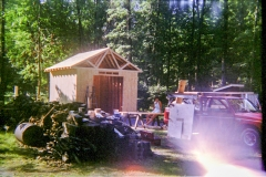 New Shed - Roof & Wall Sheathing