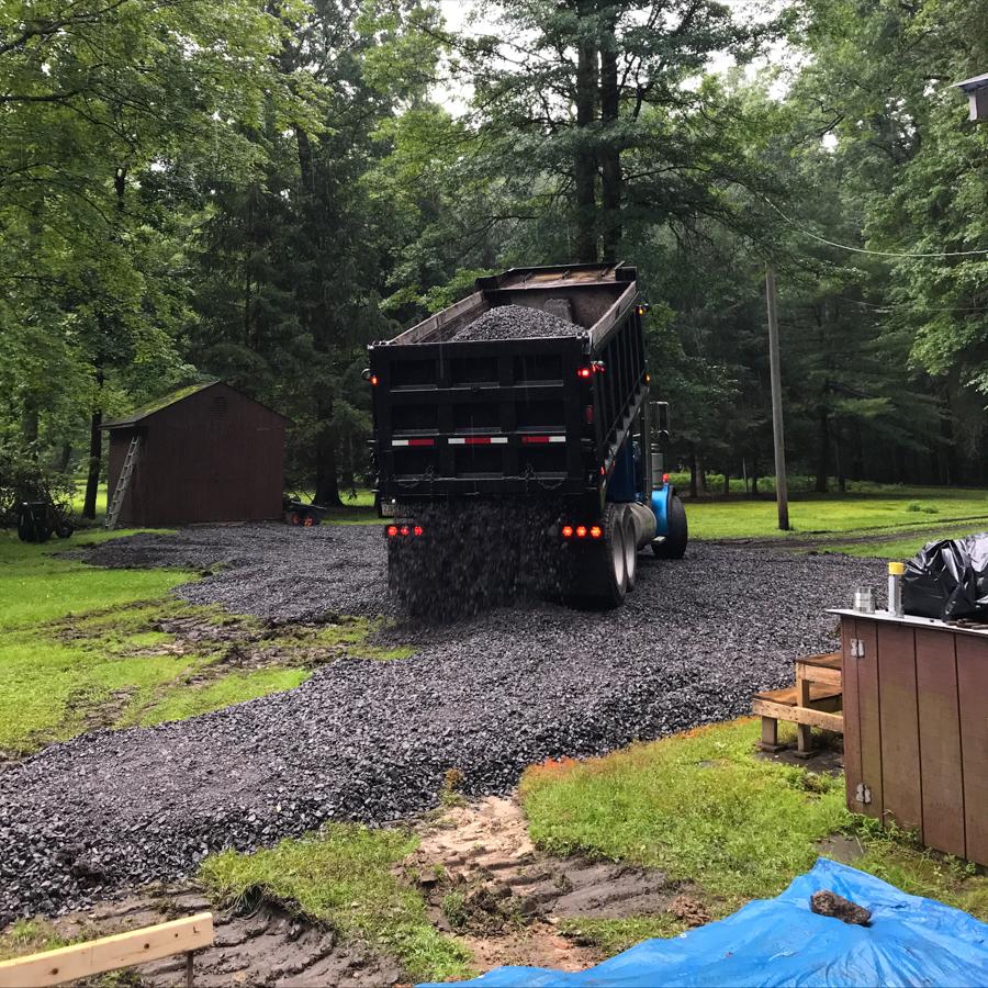 Stone Truck - Wolfley Excavation