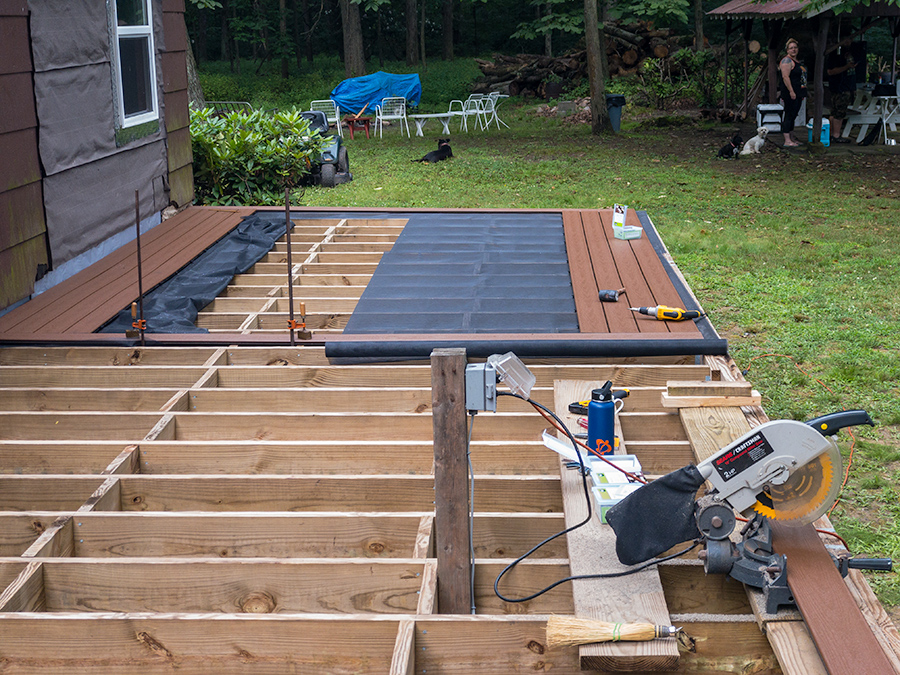 Porch Decking Restart