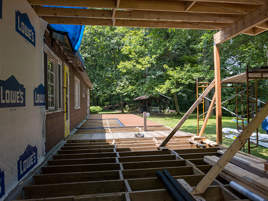 Porch Decking Continued