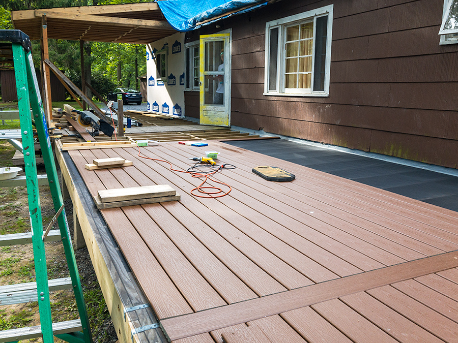 Trex Decking Continued