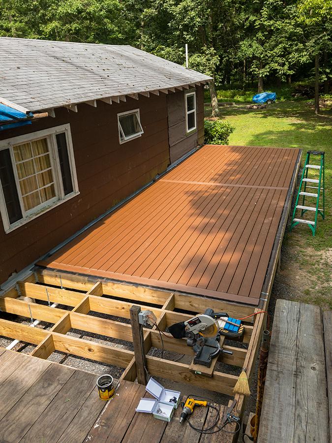 Trex Decking - Porch Section 2