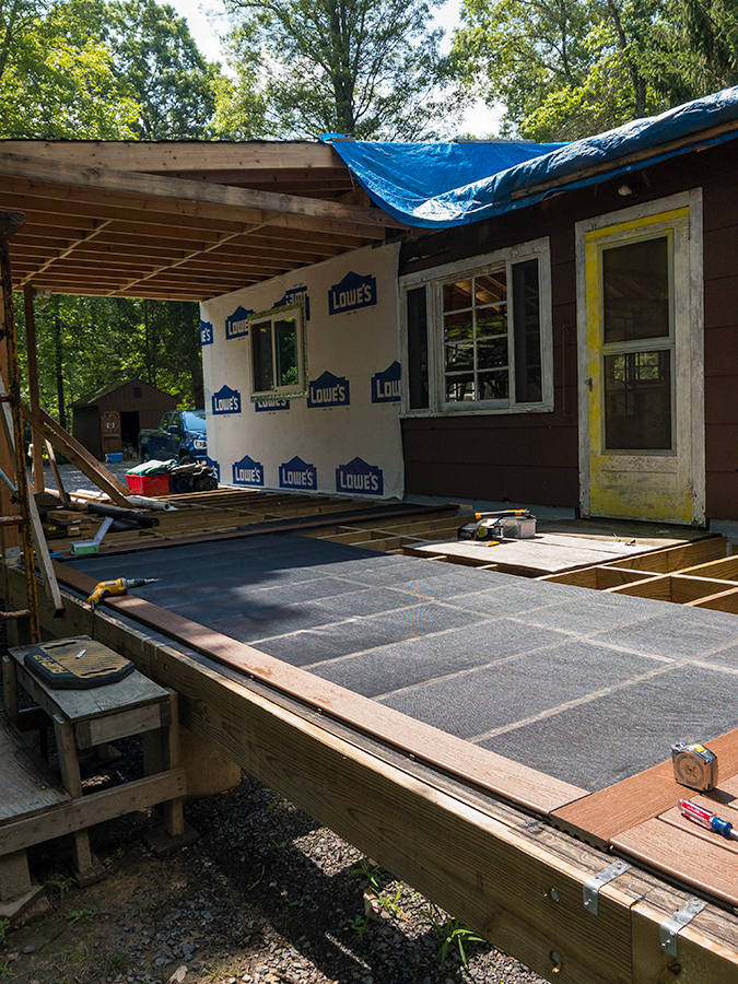 Porch Decking - Section 3