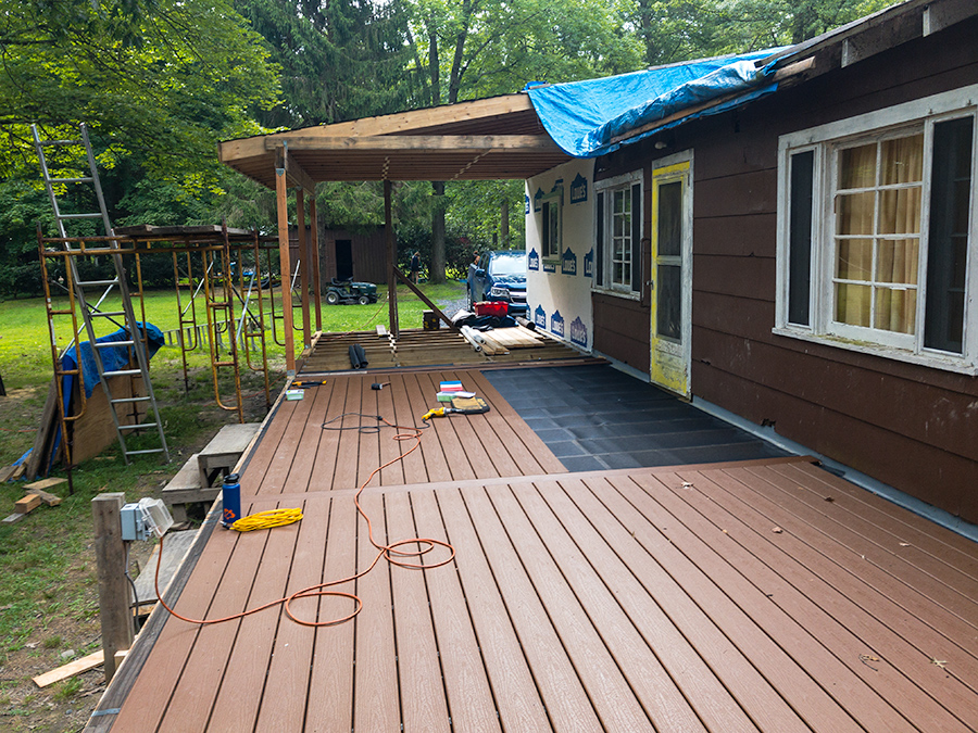 Section Three Porch Decking