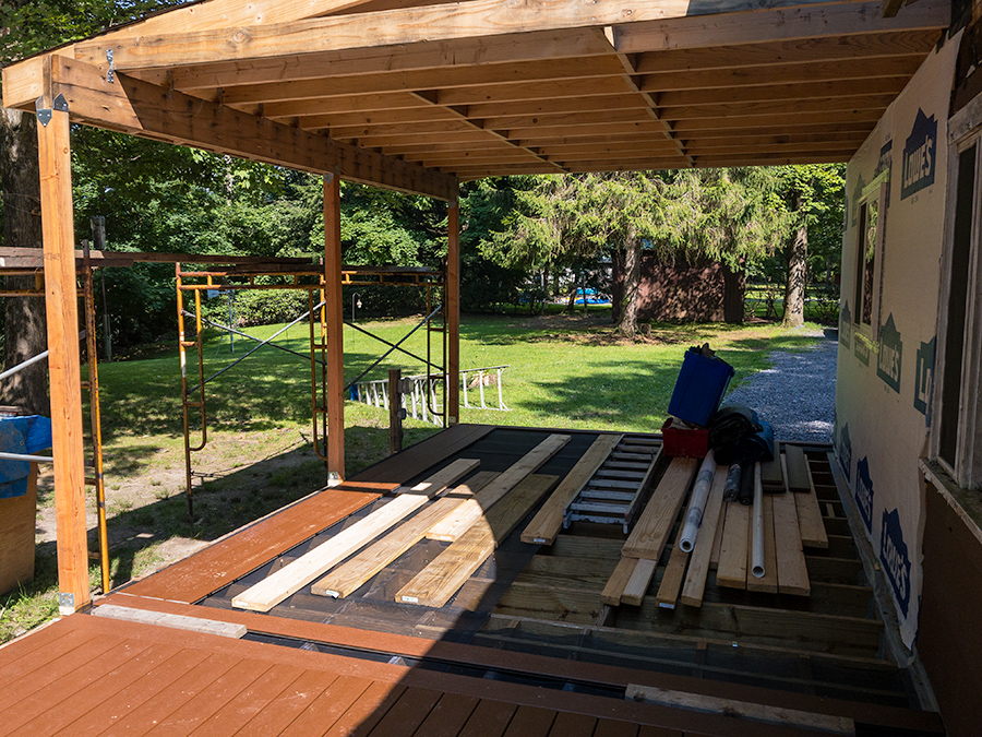 Section Four - Porch Decking