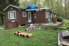 Porch Roof Demolition