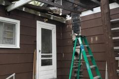 Roof Demo - Kitchen Door
