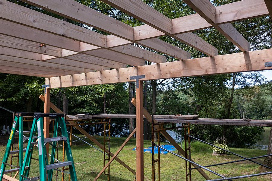 Ceiling Joist & Solid Bridging