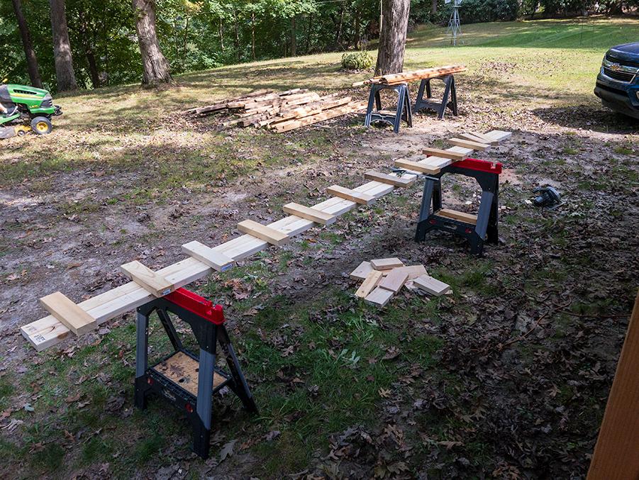 Knee Wall Framing - Rinse and Repeat