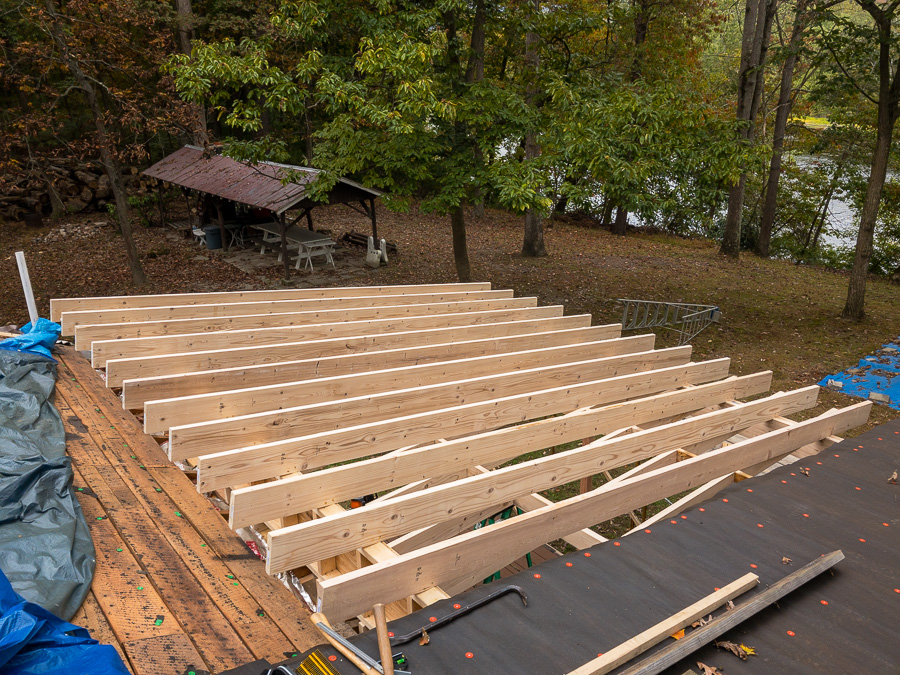 Roof Rafters Section Three