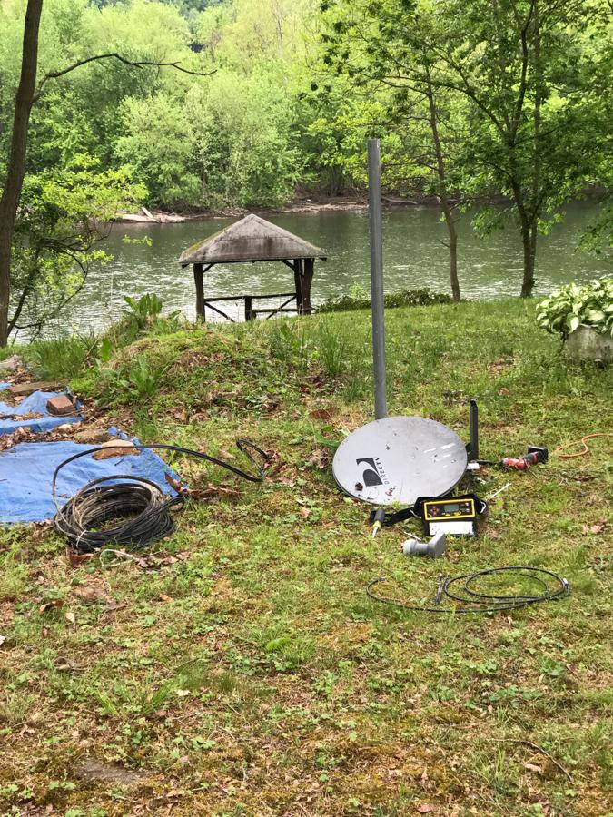 Direct TV Dish - Satellite Internet
