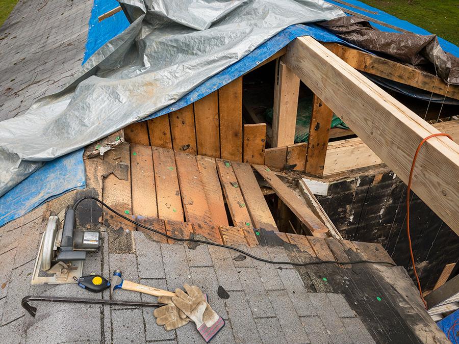 Misc Roof Demolition