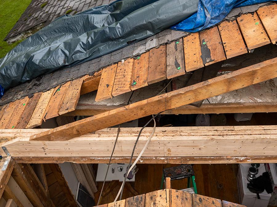 Roof Demolition