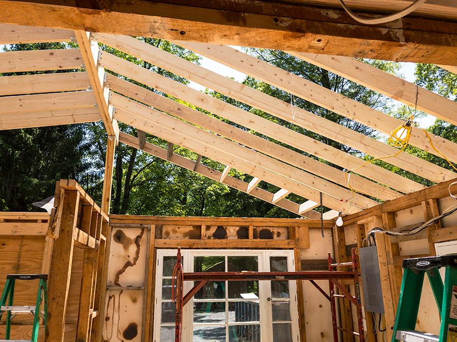 Ladder Framing - Overhang
