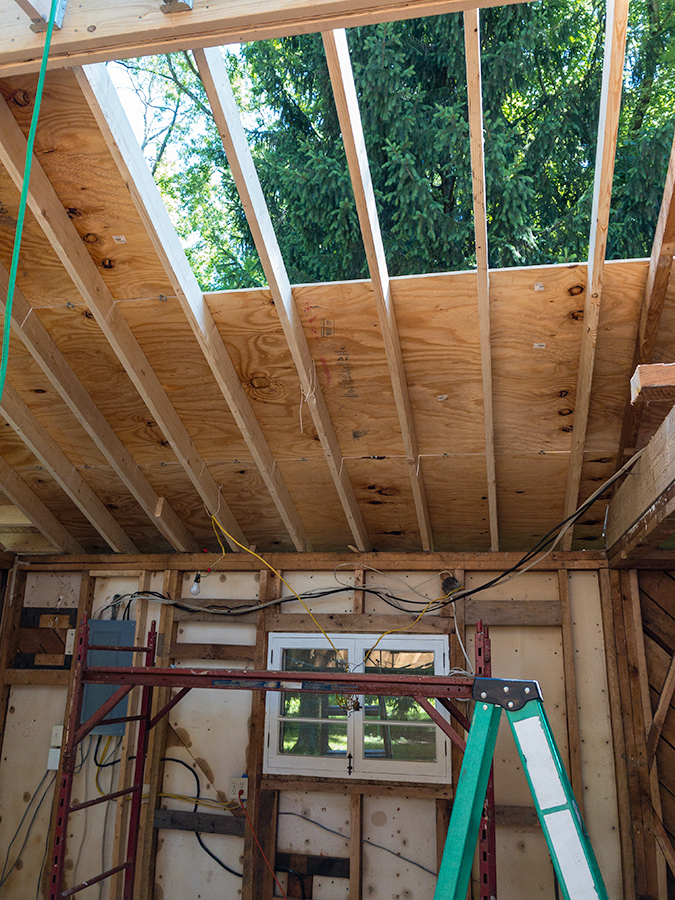 Roof Dry In - Plywood Sheathing