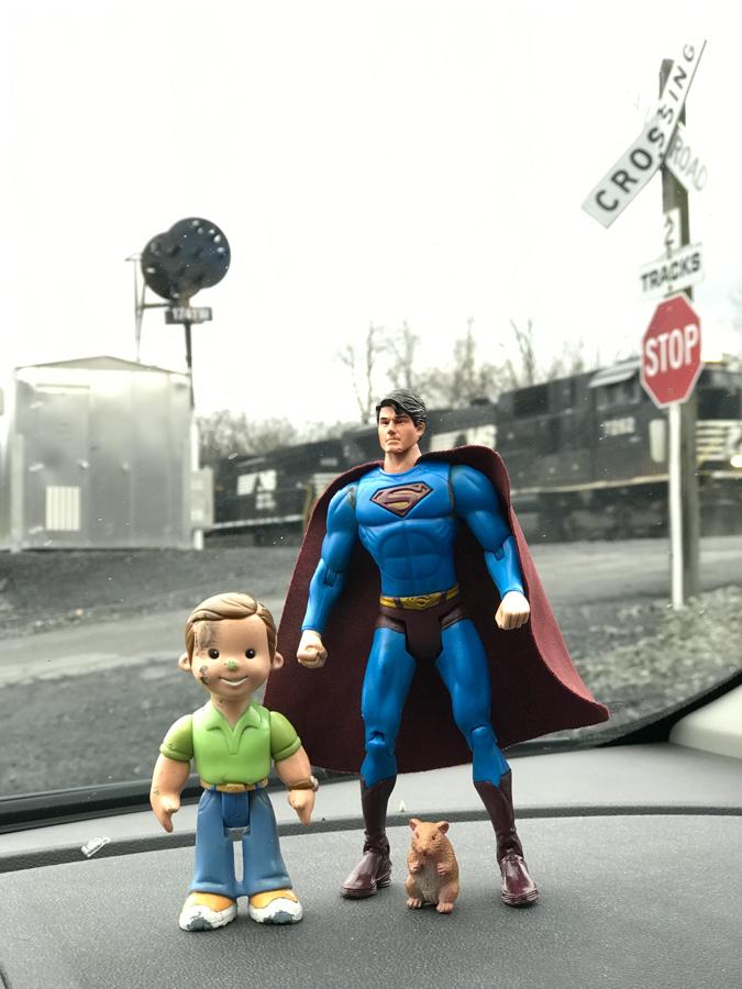 Dangerous Dan and Superman