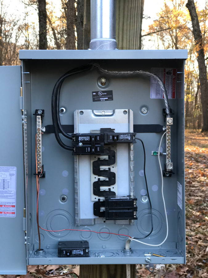 Temporary Electric - 100 Amp Load Center