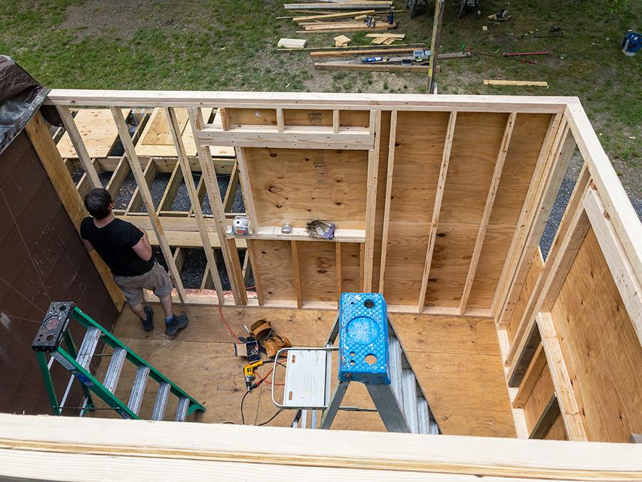 Plywood Wall Sheathiing