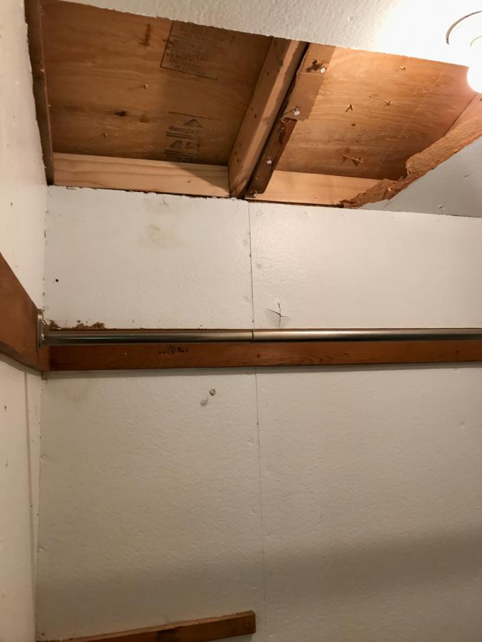 Closet Paneling