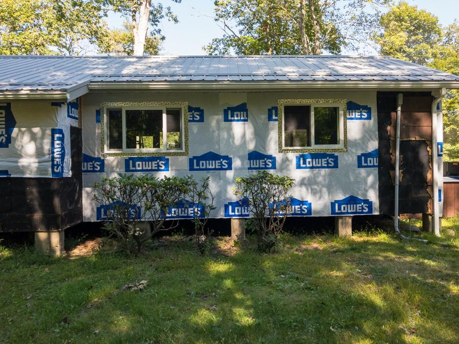 Last Living Room & Kitchen Windows