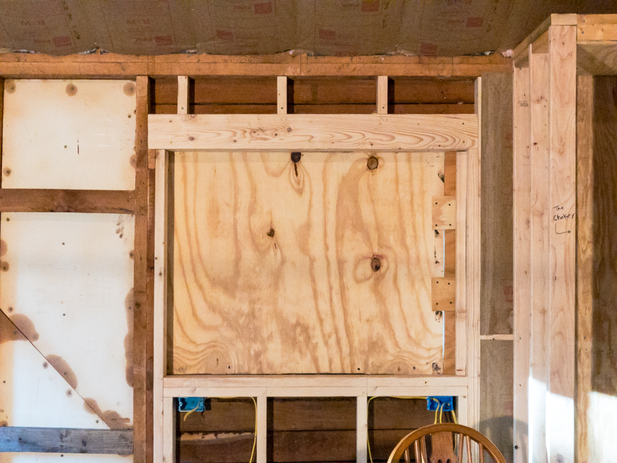 Temporary Plywood