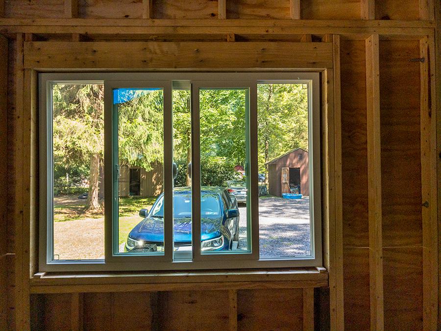 New Kitchen Side Window