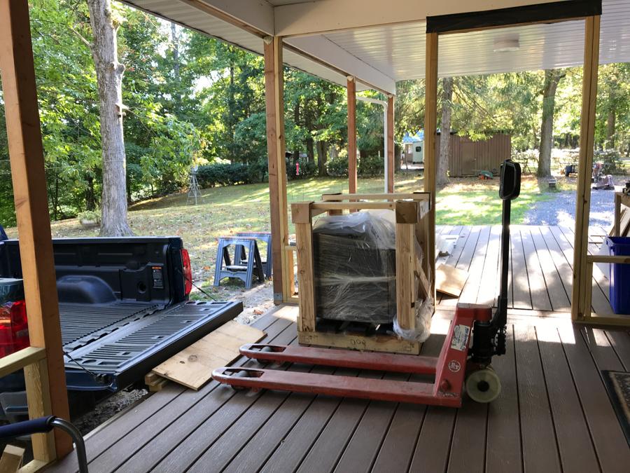 Wood Stove 05 - Unload