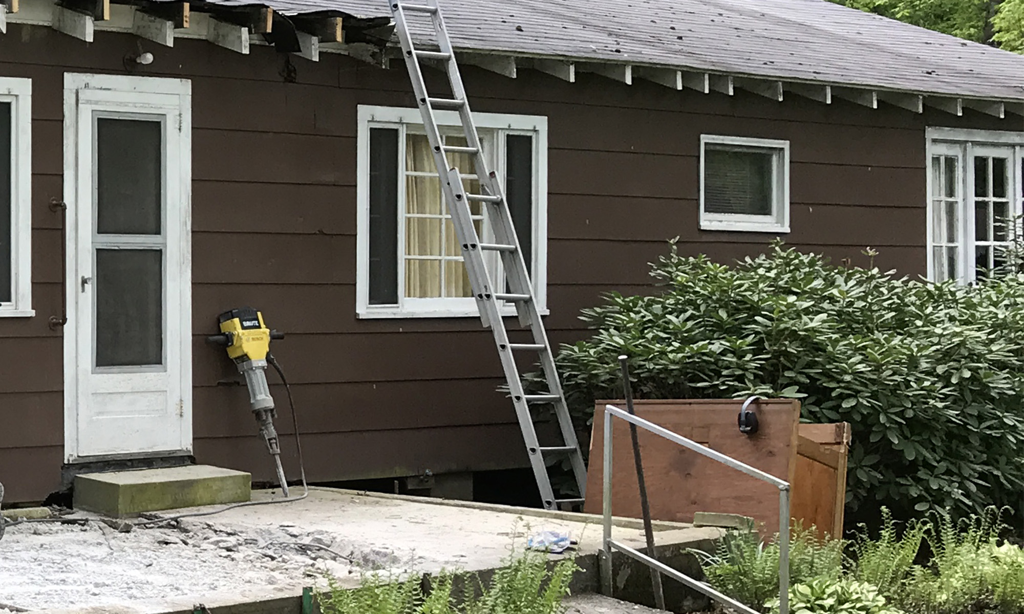 Porch Slab Demo
