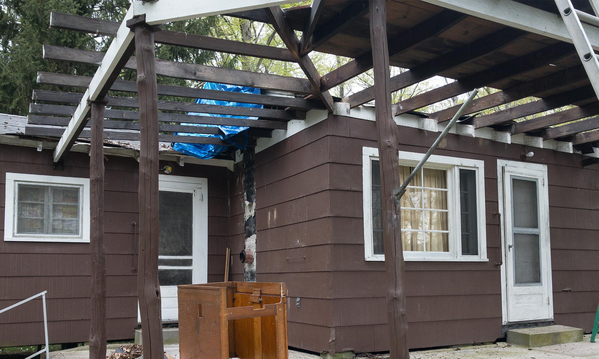 Porch Roof Demo
