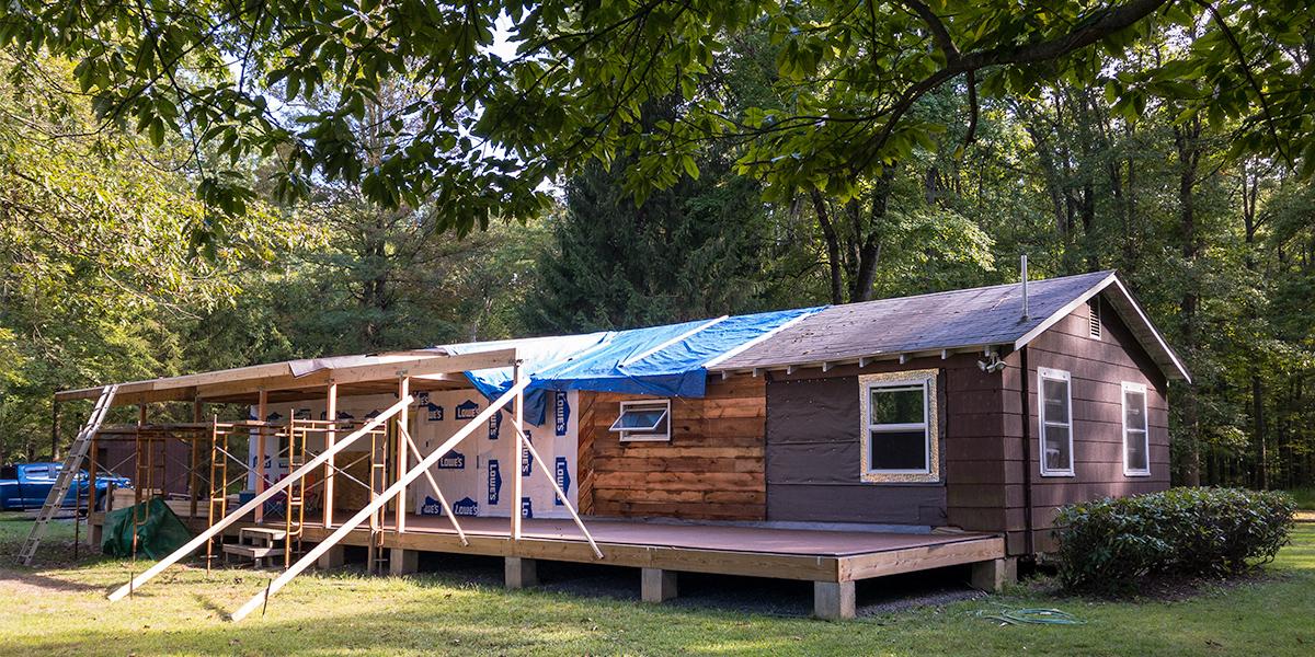 Cottage Porch Framing